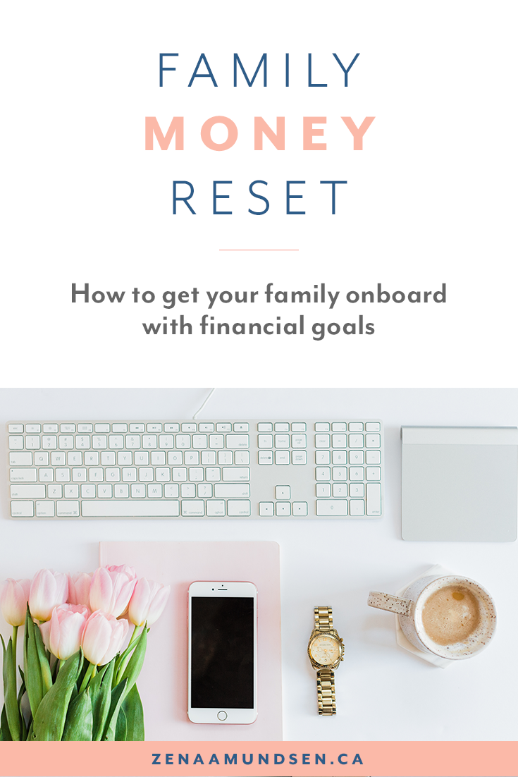 September Money Reset: Getting Your Family on Board By Zena Amunsden