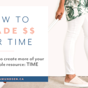 How to Trade Money for Time By Zena Amundsen