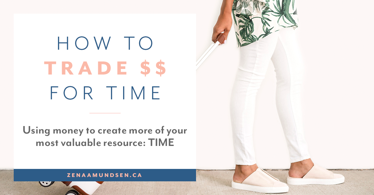 Using Money to Create More of Your Most Valuable Resource: Time!