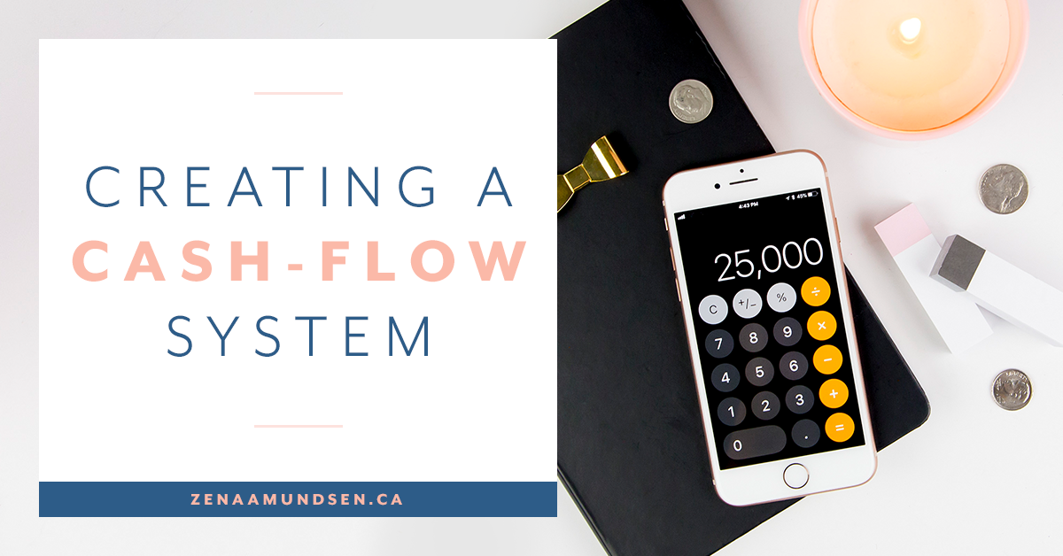 Creating a cash flow system