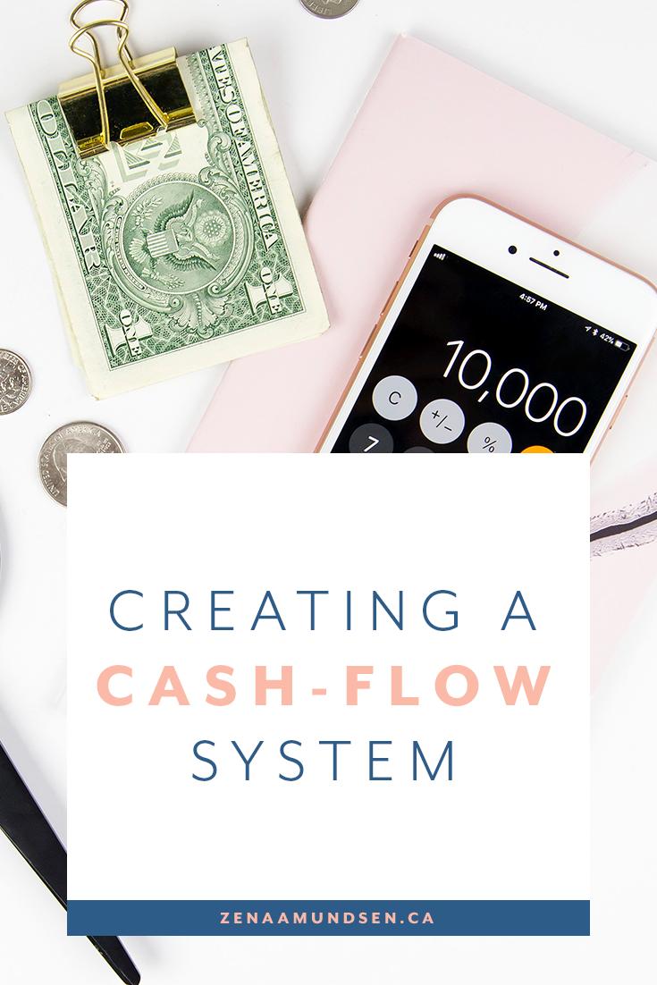 Creating a cash flow system By Zena Amundsen