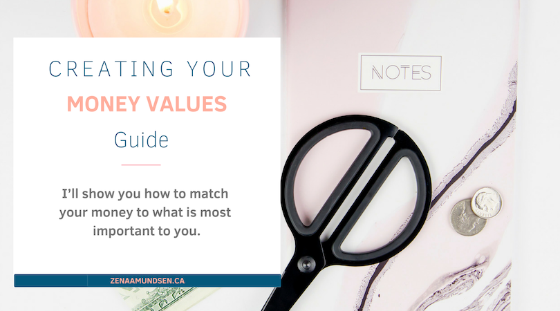 Everything you need to know to create your money values guide – I'll show you how to match your money to what is most important to you.