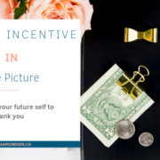 Saving Incentive in One Picture By Zena Amundsen
